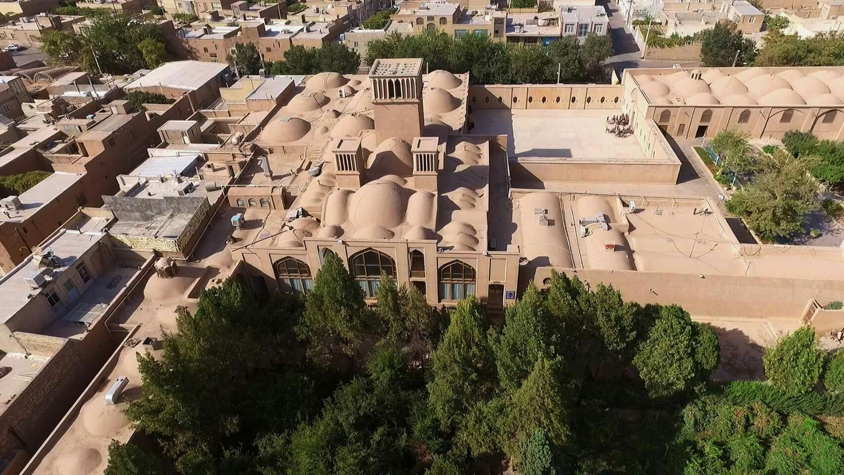 Yazd, Iran, city of wind towers