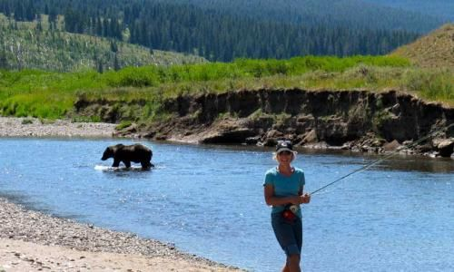 Slough Creek Yellowstone Fly Fishing Campground Alltrips Fly Fishing Yellowstone Camping Yellowstone