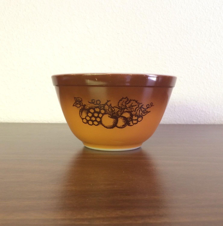 Pyrex Old Orchard Nesting bowl # 401 by HautelAudubon on Etsy https ...