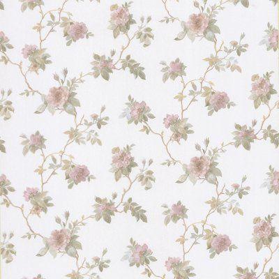 Brewster Agatha Floral Wallpaper Pink - 2686-56014