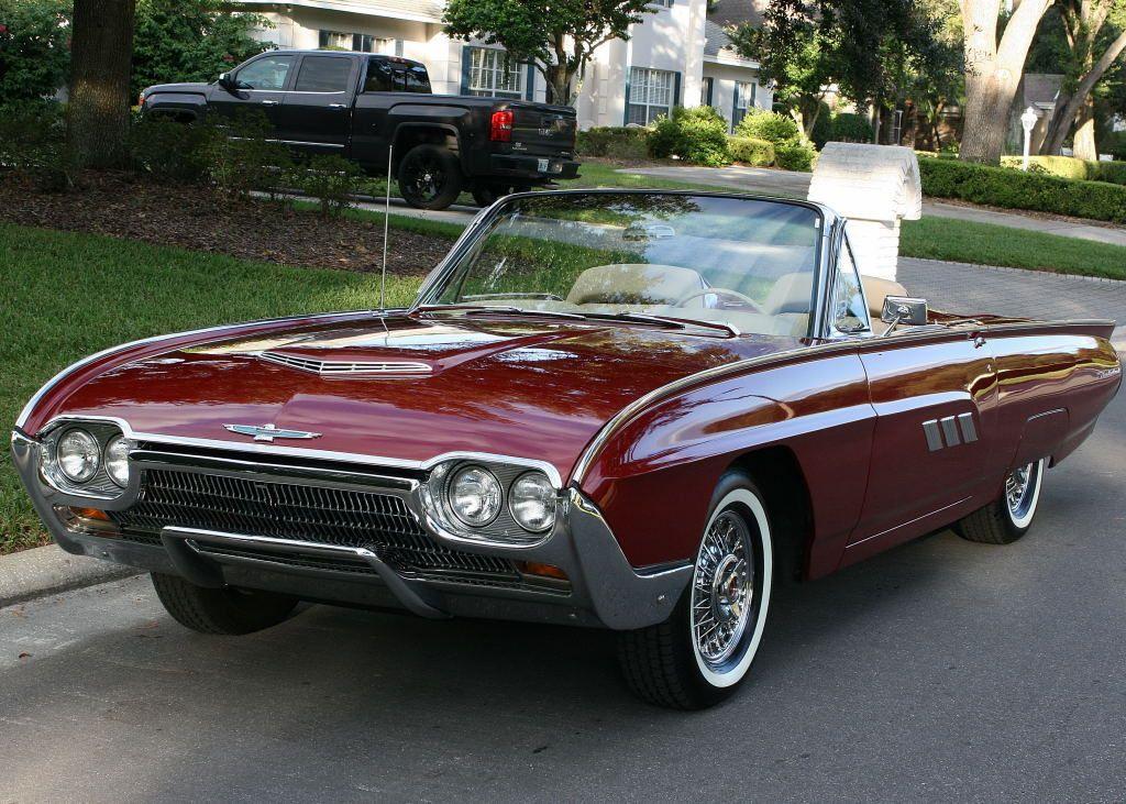 All American Сlassic Сars — 1963 Ford Thunderbird 2Door