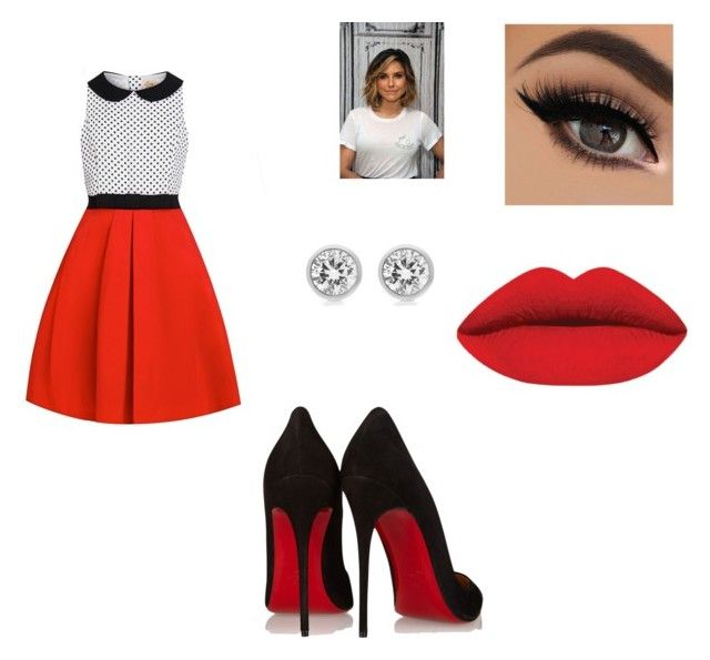 """""""Meu Pequeno Milagre."""" by camilanoris ❤ liked on Polyvore featuring Christian Louboutin and Michael Kors"""
