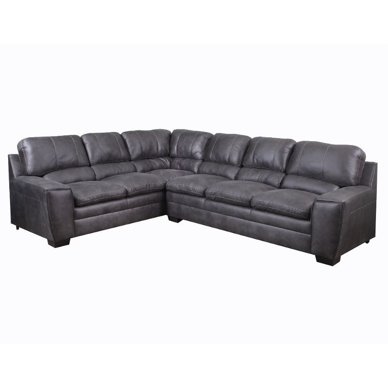 Granite Causal Contemporary 2 Piece Sectional Sofa Caruso