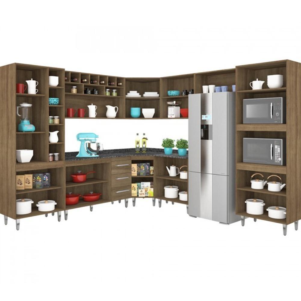 Cozinha Completa Modulada Terraro 9 Pe As Cozinhas Completas