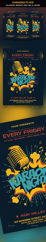 Karaoke Flyer Pinterest Club Parties Karaoke And Flyer Template