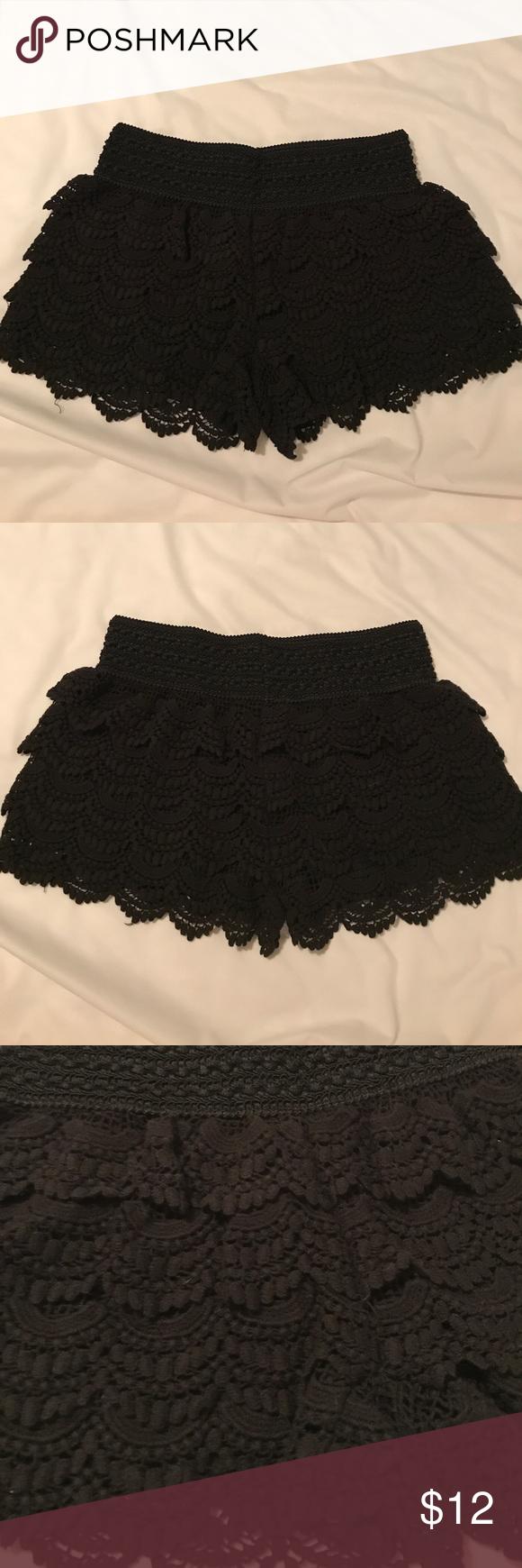 American Rag shorts Black American Rag Shorts