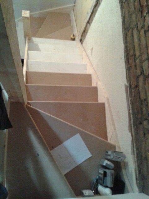 Steep Attic Stairs