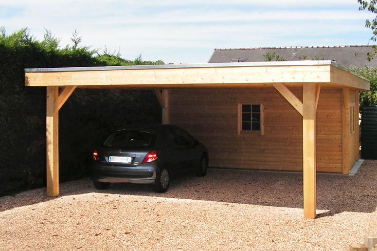 Carport voiture neuville carports pinterest meilleures id es refuges a - Garage carport voiture ...