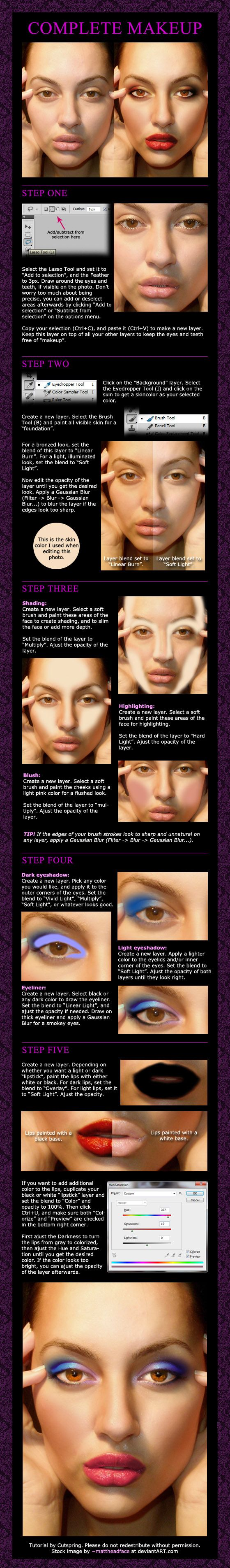 Makeup in photoshop photography software actions brushes tips photography tutorials makeup in photoshop baditri Images