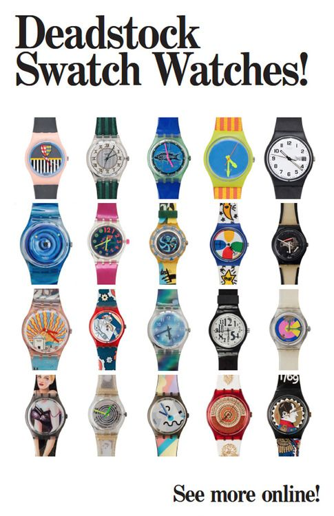 American Apparel Swatch Watch Vintage Swatch Watch Swatch