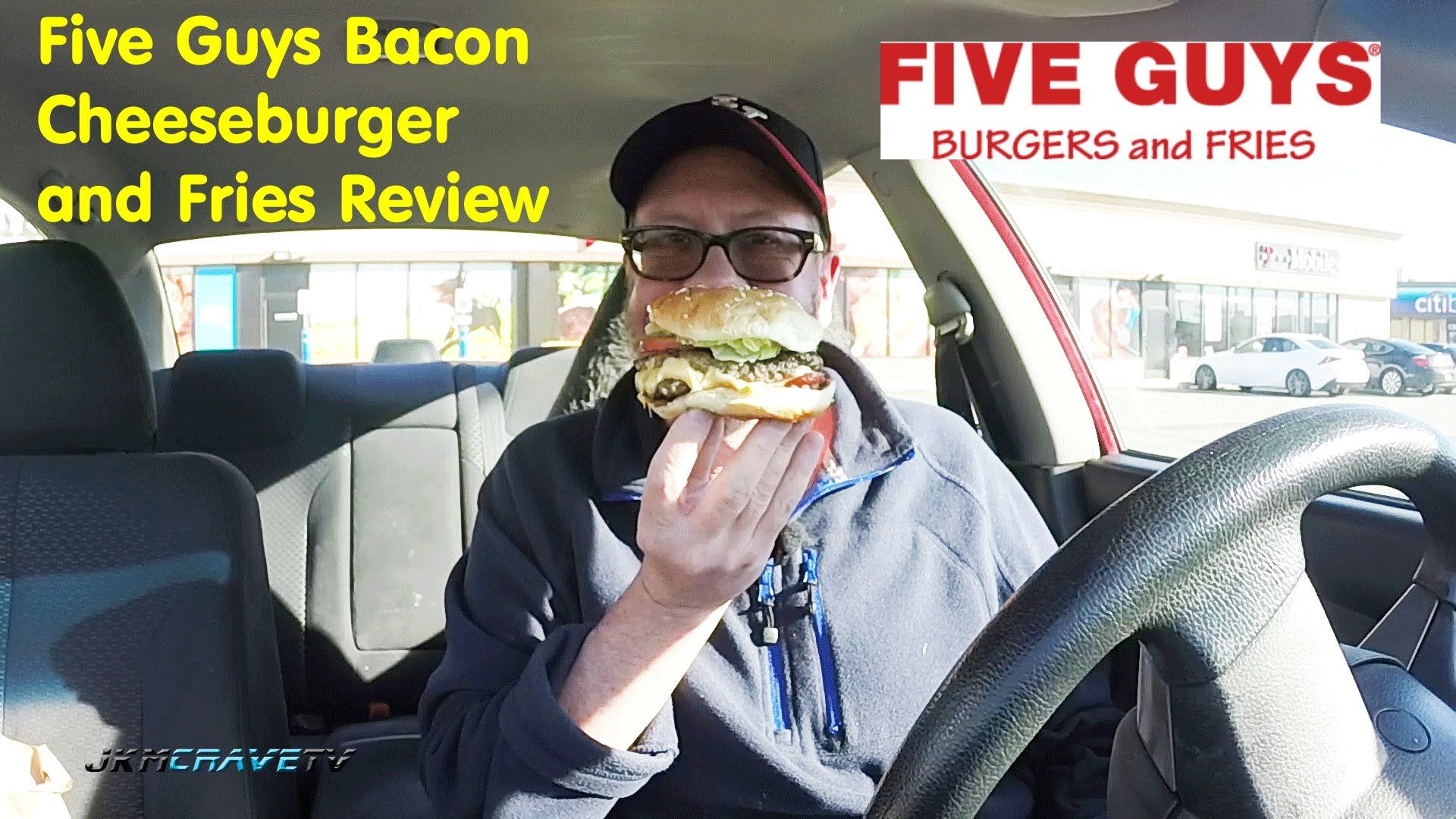 Five Guys Burger Fries Bacon Cheeseburger And Fries Review 170