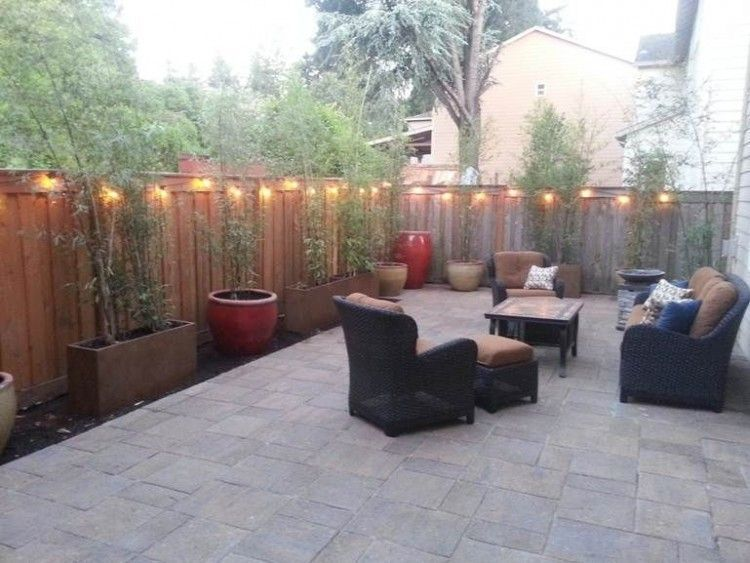 Small Cement Backyard Ideas Cement Backyard Ideas Small Cement