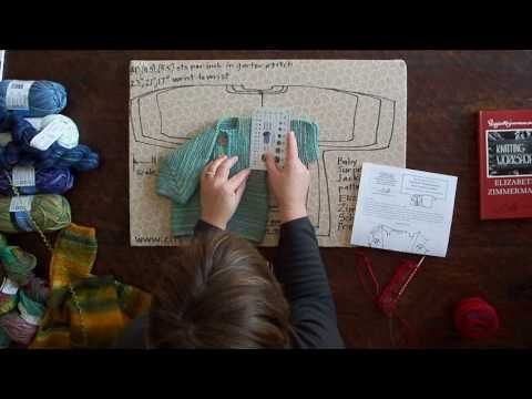Instructional videos to knit the BSJ. Not the actual patterns, but it's a GREAT visual for understanding EZ's pithy instructions. It's taking vague steps and having actual hands and knitting needles show you how to do it. Love this series.
