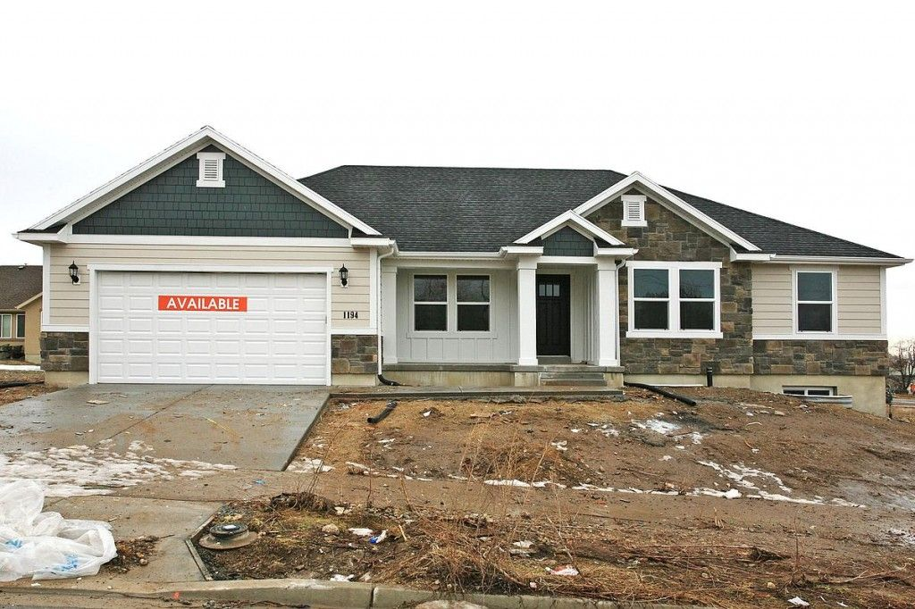 Hadley rambler floor plan utah edge homes exterior for Rambler house plans utah