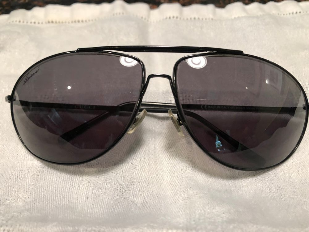 df53f35d8b Gucci Aviator Sunglasses in Black. Authentic Never Worn  fashion  clothing   shoes