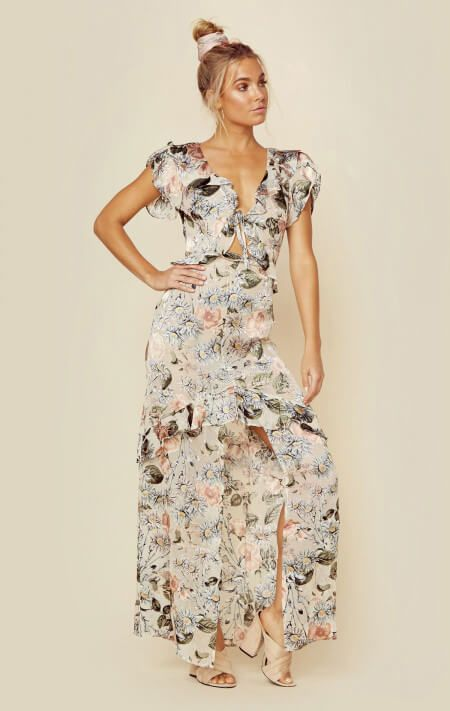 For Love And Lemons New Luciana Maxi Dress Summer Attire Maxi