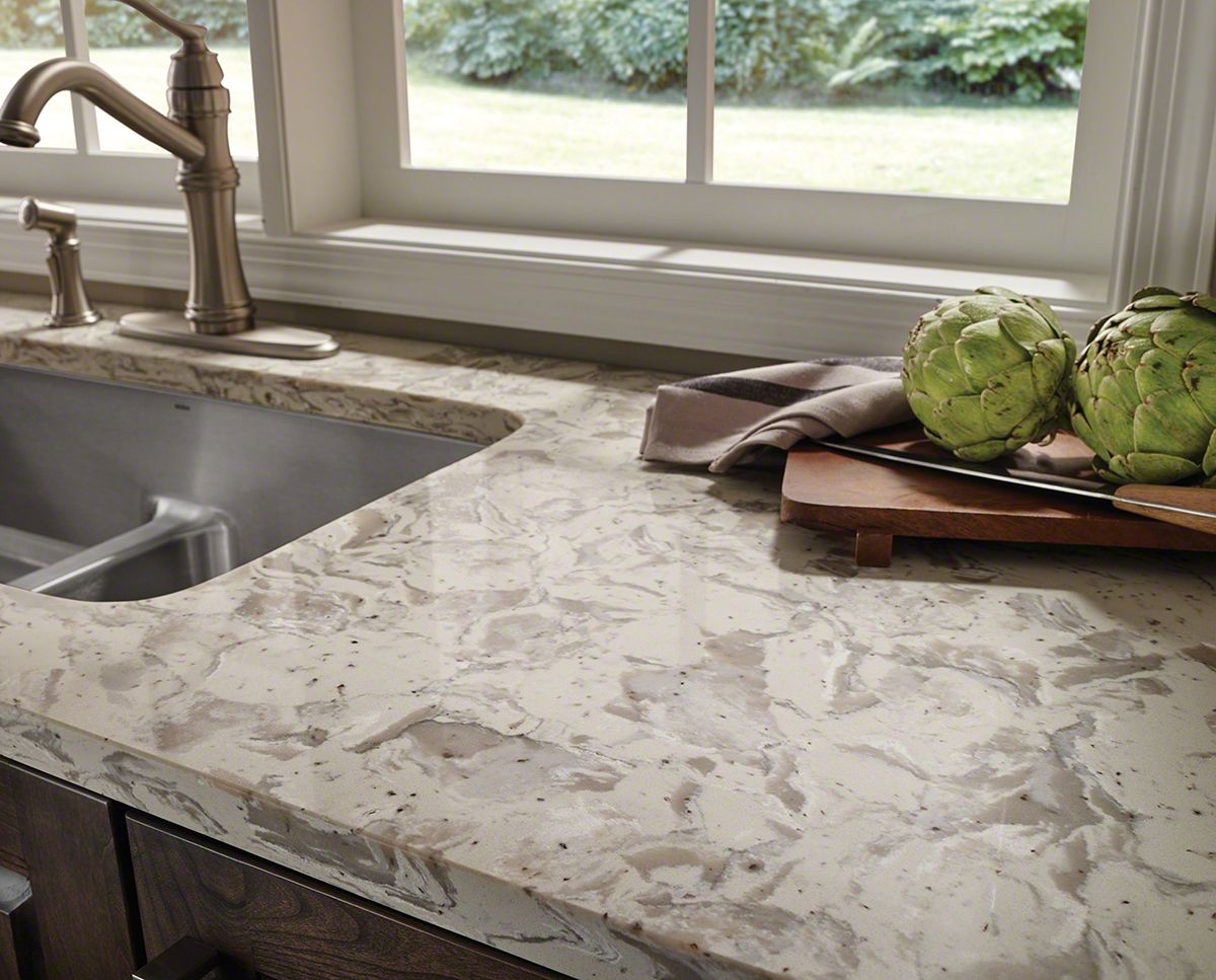 Romano White Quartz Kitchens Quartz Countertops