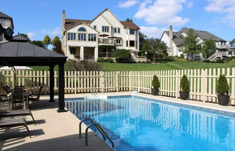 27 Awesome Pool Fence Ideas For Privacy And Protection Pool Fence Pool Fencing Landscaping Fence Design