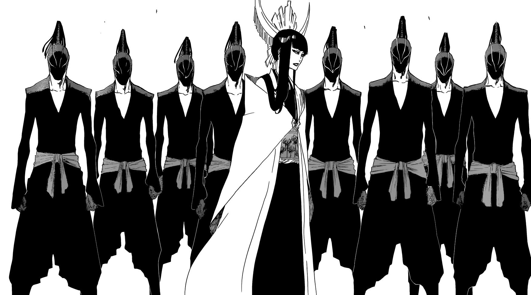 Senjumaru Shutara | Royal Guard Zero Squad | Bleach, Bleach