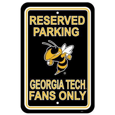 NeoPlex NCAA Parking Sign NCAA: Georgia Tech