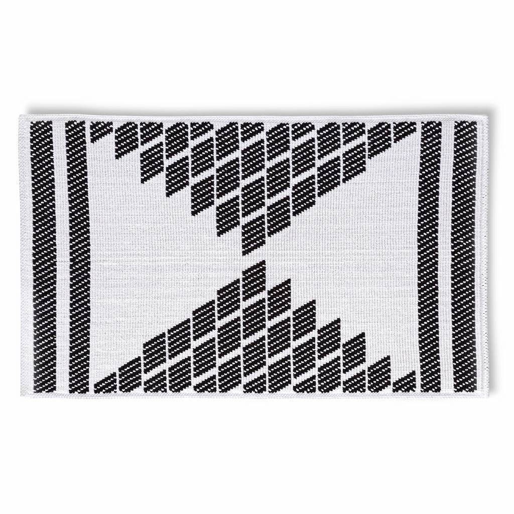 pin sparkly and confetti stripes black mat bath white gold mats
