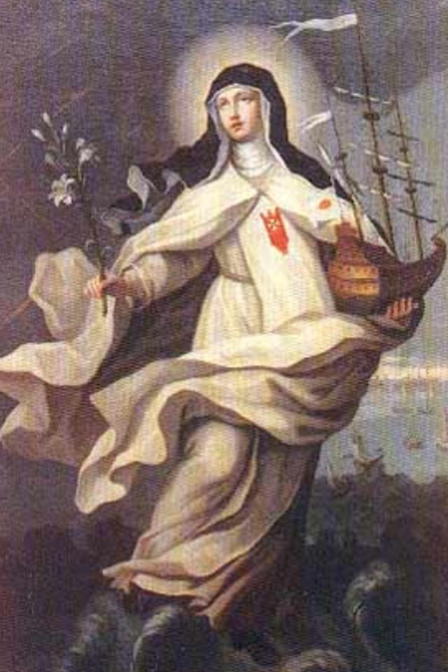 Blessed Mary of Cervellione, patroness of shipwrecks