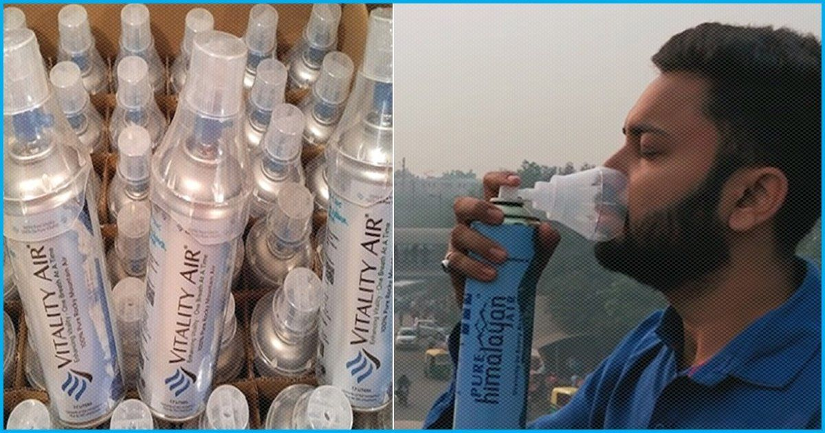 From Social Experiment To Reality Bottled 'Fresh Air' Now