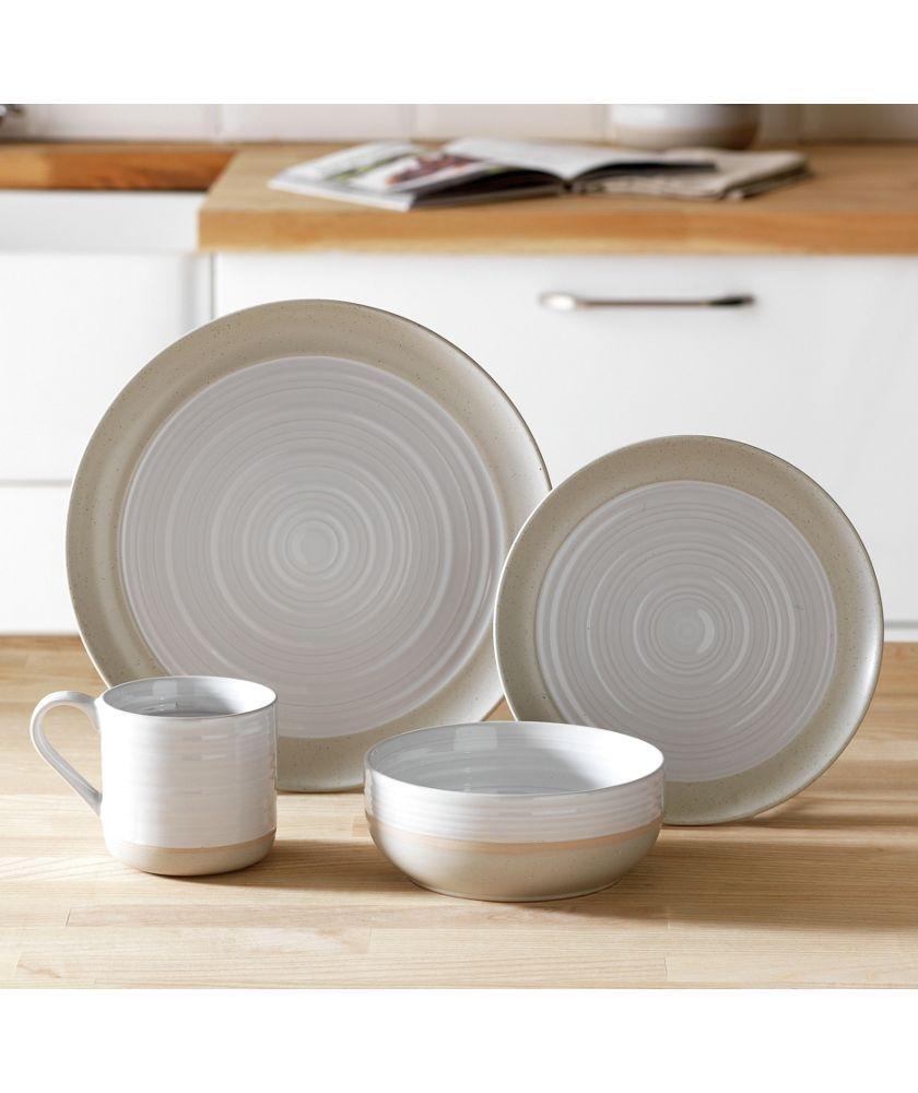 Merveilleux Buy Heart Of House Purton 16 Piece Stoneware Dinner Set   White At Argos.co
