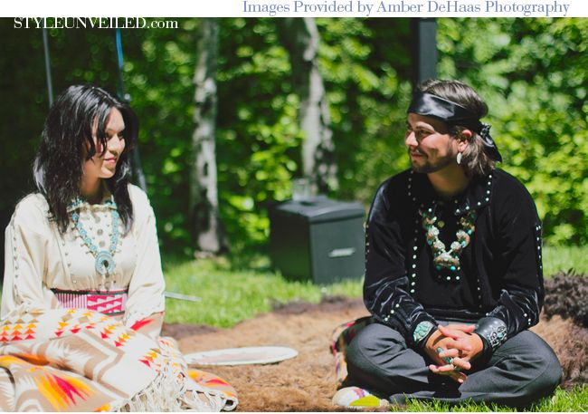 A Traditional Navajo Wedding Day A Dine Marriage Ceremony | Wedding ...
