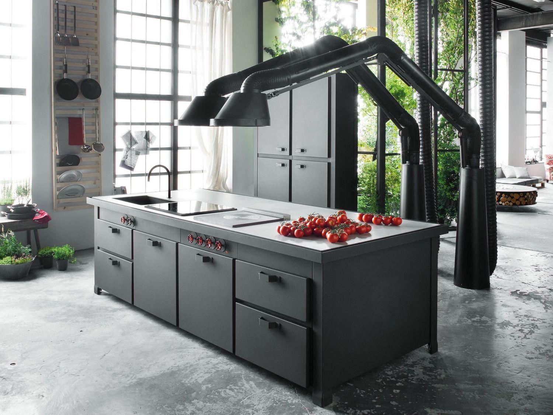 Minacciolo mobili ~ Cucina componibile con isola minÀ professional by minacciolo