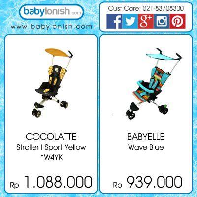 43+ Stroller baby cocolatte harga info