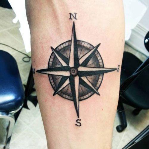 125 Best Compass Tattoos For Men Cool Designs Ideas 2020 Guide Compass Tattoo Men Compass Tattoo Design Viking Compass Tattoo