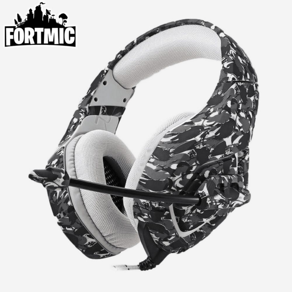 Details About Headset Stereo Headphone Wired Mic For