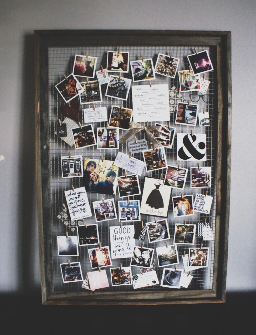 Récupérer un vieux cadre pour exposer vos plus belles photos! 12 ...