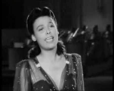 Lena Horne - Stormy Weather (1943) Here's the full version of a performance that can be found truncated elsewhere on YouTube -- from the 1943 film of the same name, the great Lena Horne delivers a sizzling performance of her signature song. (I wish I had the full dance that follows it, which includes some amazing ballet.
