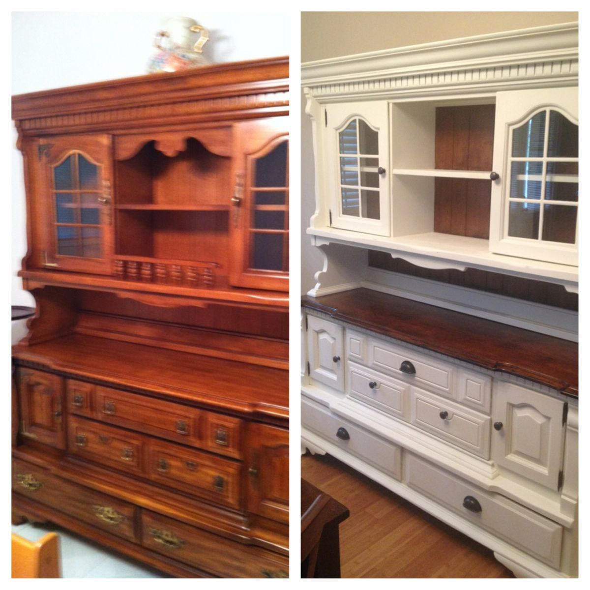Refurbish Kitchen Cabinets: Pin By Melissa Rose On China Cabinet Makeover