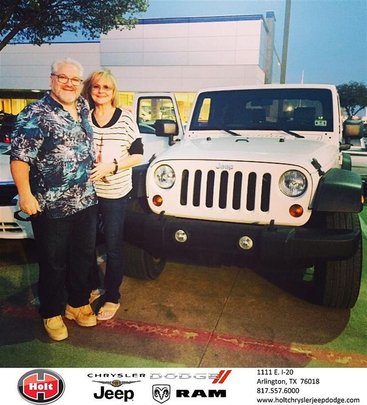 Congratulations To William Howard On Your Jeep Wrangler Purchase From Jessica Hernandez At Holt Chrysler Jeep Dodge Newcar Jeep Dodge Chrysler Jeep Jeep