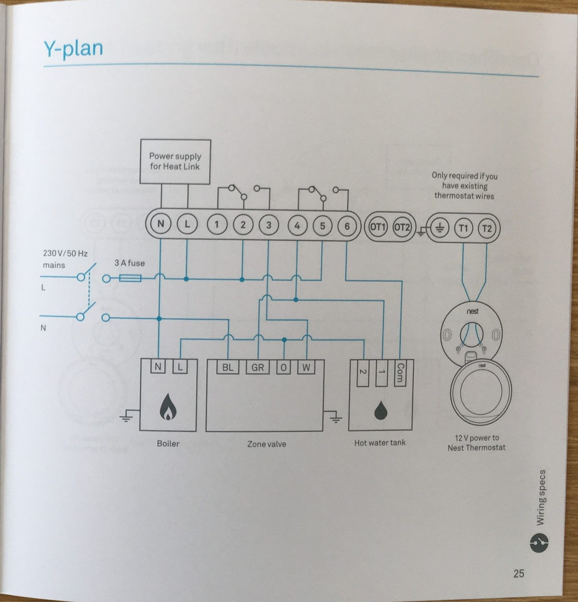 Luxury Wiring Diagram for A Y Plan Heating System