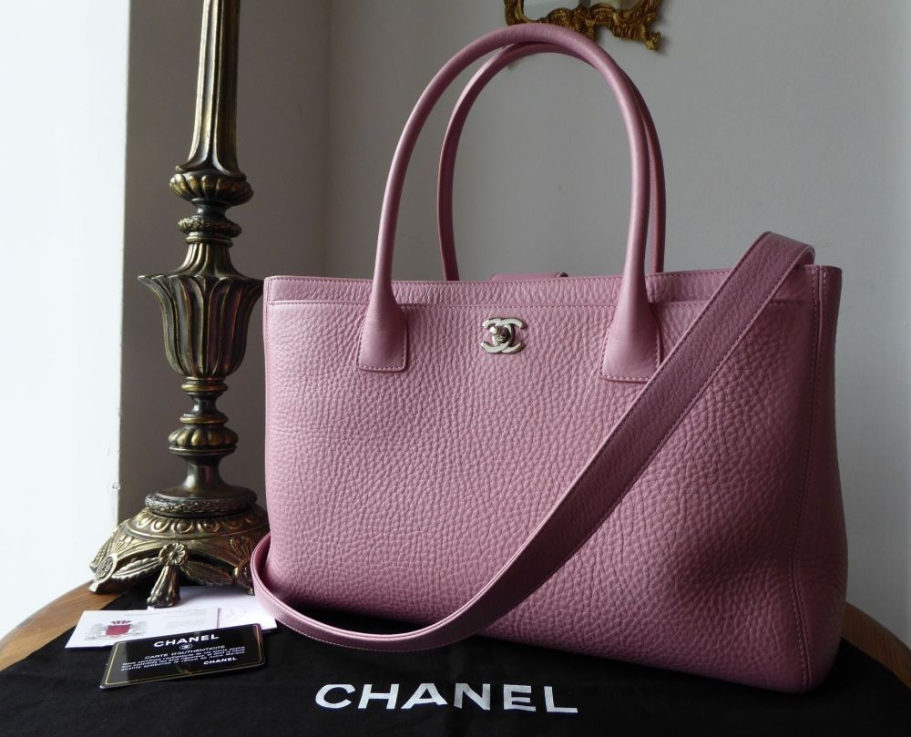 0b17209560c4 Chanel Executive Cerf Tote in Pink Calfskin with Silver Hardware >  https://