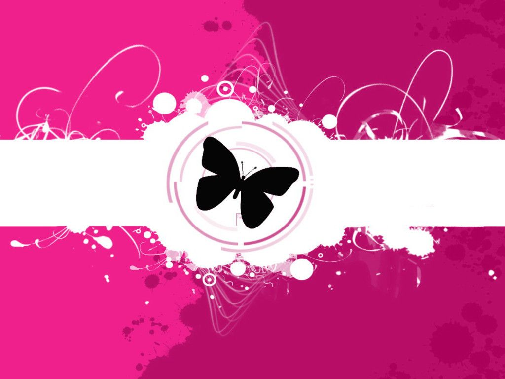Pink butterfly vector background hd wallpapers pink butterfly vector - Purple Butterfly Background Butterfly Wallpaper For Desktop In Pink Purple Free Butterfly