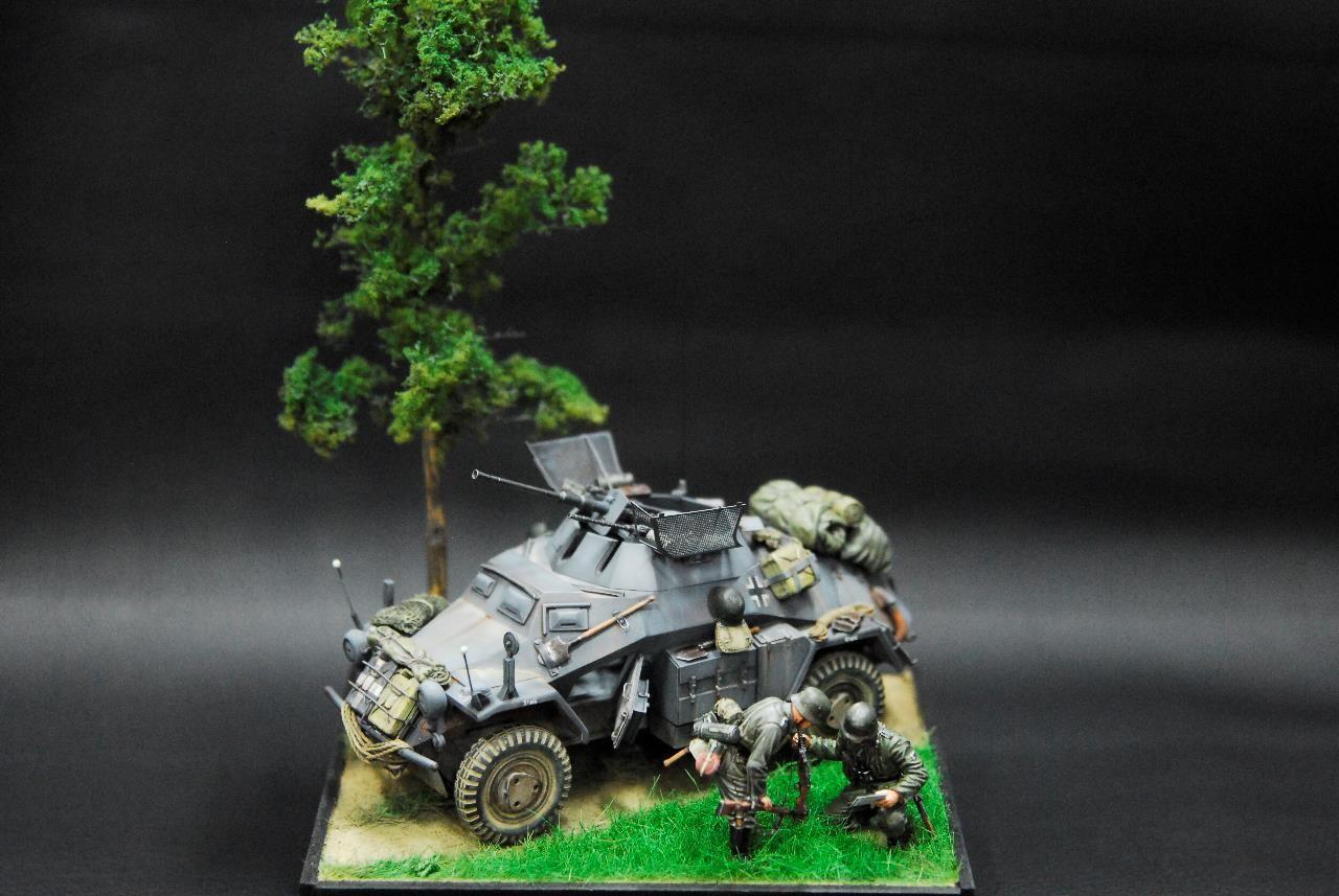TAMIYA. German sd.kfz.222