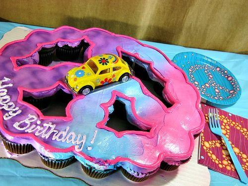 Cupcake Cakes Google Search Kids Birthday Parties