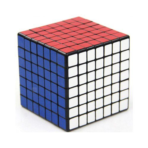 Like this wasn't hard enough already. 7x7x7 Cube Puzzle ,Shengshou Black Sp... $20.29 #bestseller