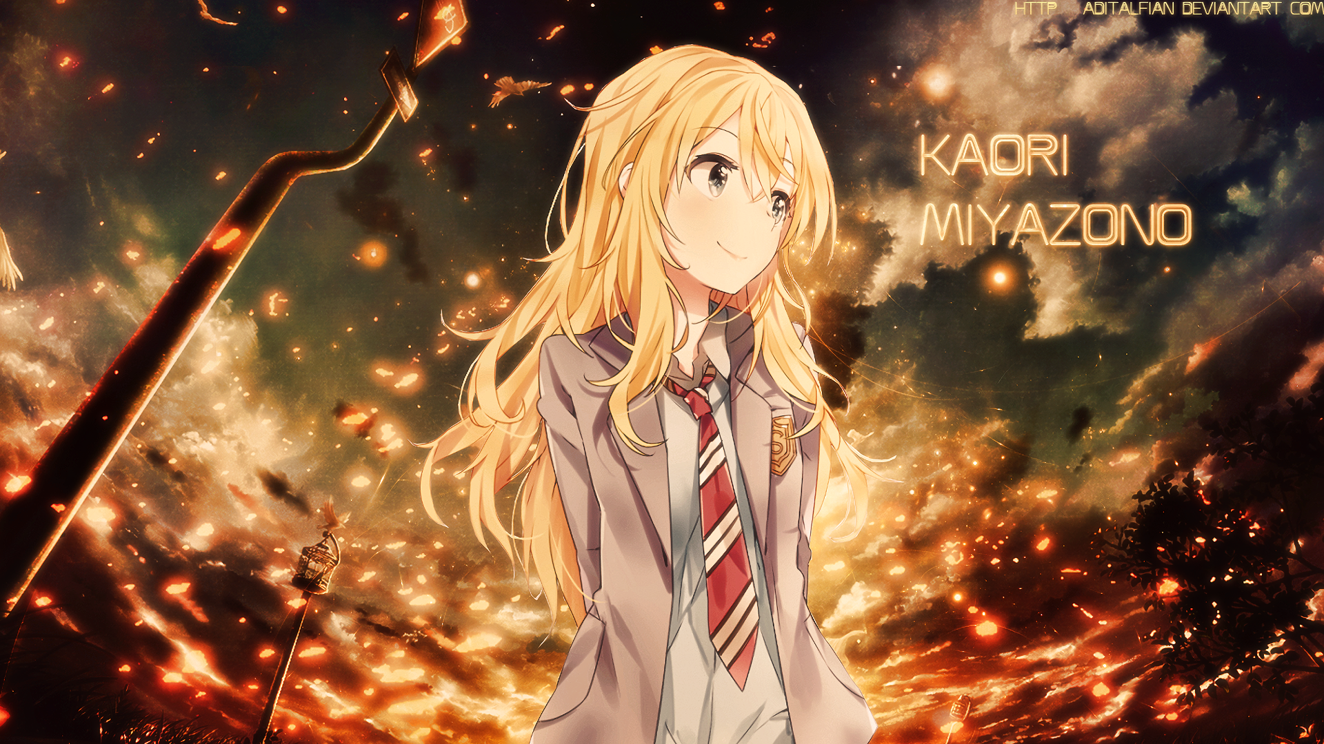 Pin By Quinn Of Gotham On Your Lie In April Shigatsu Wa Kimi No Uso Your Lie In April Anime Wallpaper Backgrounds