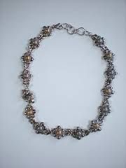 Google Image Result for http://i.ebayimg.com/t/KIESELSTEIN-CORD-2007-STERLING-14K-HONEY-BEES-DAISIES-18-NECKLACE-/00/s/MTQ0MFgxMDgw/z/SE0AAM...