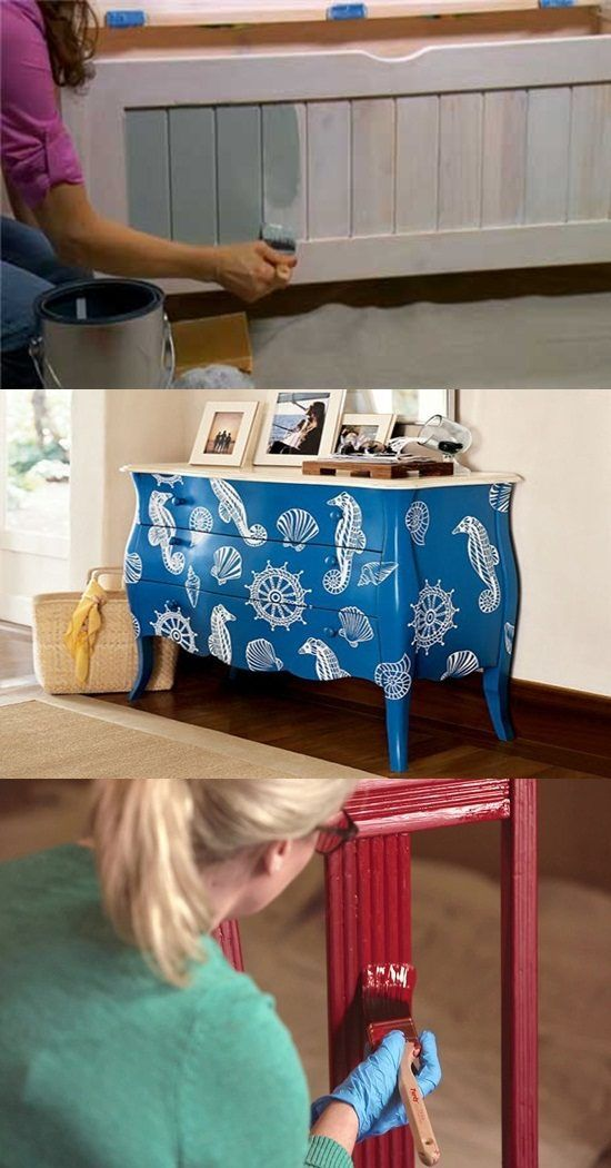 Essential tips and ideas on painting furniture - Using the right patterns and textures can effectively provide you with the desirable feeling of coziness, romance and relaxation. In this article, you will find certain ways through which you can create stunning textures for homes and some essential tips and ideas on painting furniture. Keep in... -  - Furniture
