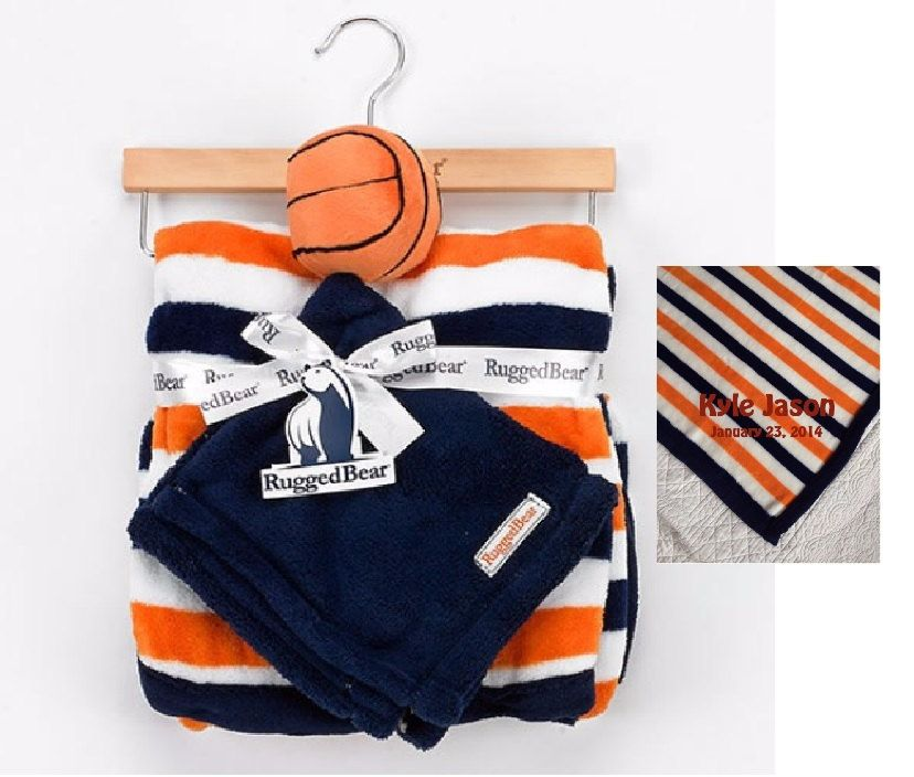 Blanket With Basketball Snuggle Lovey