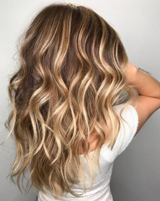 Your Ultimate Guide To Getting Sun Kissed Strands For Summer Society19 Brown Hair With Highlights And Lowlights Brown Blonde Hair Brown With Blonde Highlights