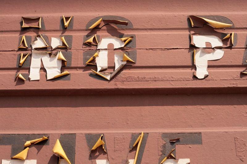 NO PARKING : Vernacular Typography