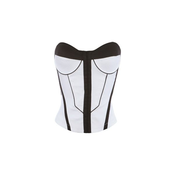 contrast seamed corset (€15) ❤ liked on Polyvore featuring tops, corset, shirts, bustier, blusas, women, sexy shirts, shirts & tops, sexy bustier and corset shirt